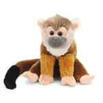 Stuffed Squirrel Monkey Mini Cuddlekin by Wild Republic