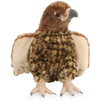 Stuffed Red-tailed Hawk 12 Inch Cuddlekin by Wild Republic