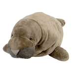 Jumbo Plush Manatee 30 Inch Cuddlekin by Wild Republic