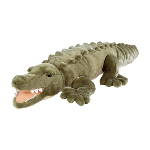Jumbo Plush Saltwater Crocodile 36 Inch Cuddlekin By Wild