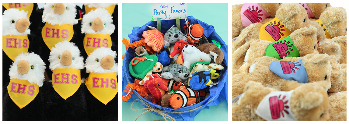 Bulk Stuffed Animal Sample Images