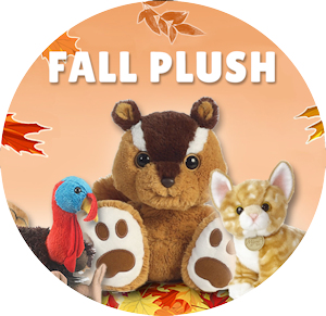 Fall and Thanksgiving Stuffed Animals