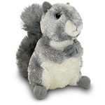 Nutty the Stuffed Gray Squirrel by Aurora