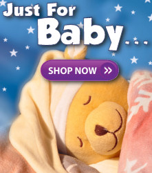 Stuffed animals just for baby